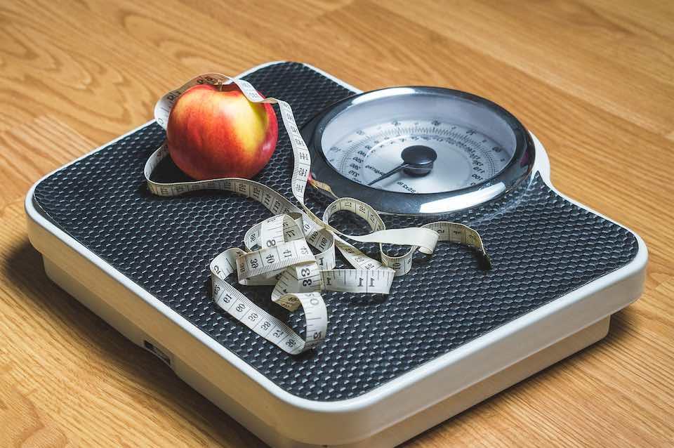balance pour suivre sa perte de poids